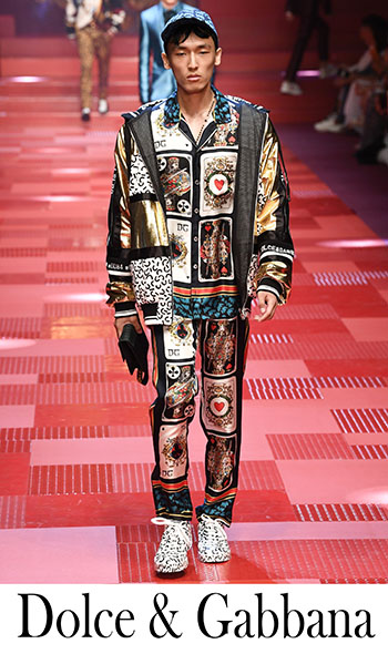 Fashion Trends Dolce Gabbana 2018 Clothing For Men