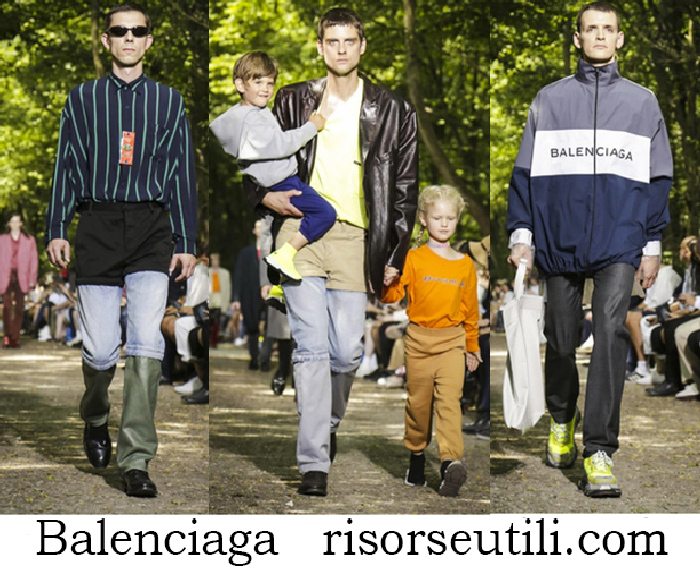 Clothing Balenciaga Spring Summer Lifestyle For Men