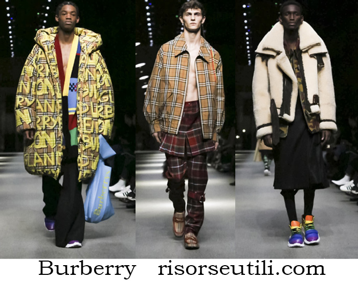 Clothing Burberry Fall Winter Fashion Brand For Men