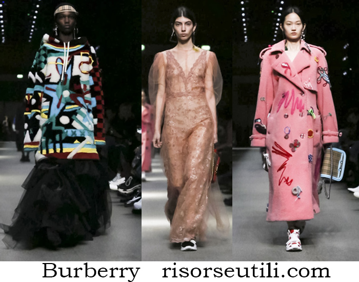Clothing Burberry Fall Winter Fashion For Women