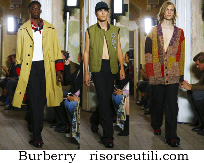 Clothing Burberry Spring Summer Lifestyle For Men