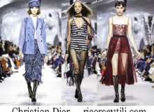 Clothing Christian Dior spring summer 2018 brand for women.