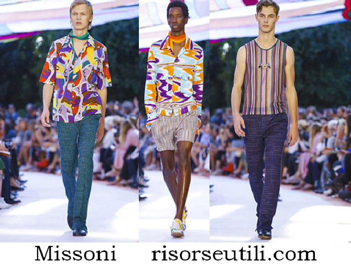 Clothing Missoni Spring Summer Fashion For Men
