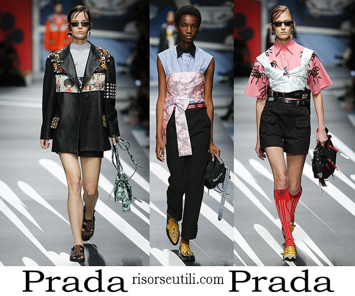 Clothing Prada Spring Summer Brand For Women