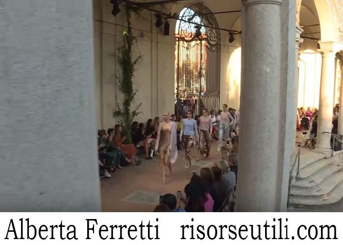 Fashion Show Alberta Ferretti For Women Spring Summer 2018