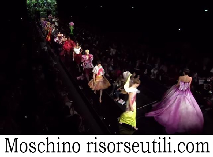 Fashion Show Moschino For Women Spring Summer 2018