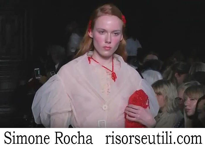 Fashion Show Simone Rocha For Women Spring Summer 2018