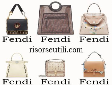 Bags Fendi spring summer 2018 new arrivals for women