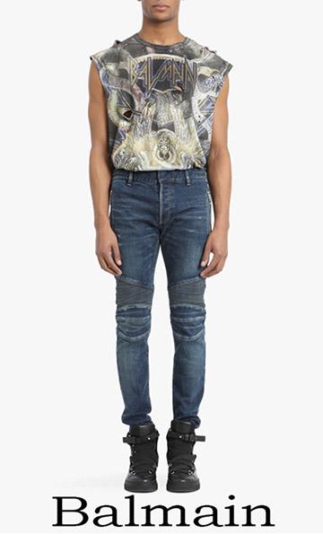 Clothing Balmain Denim Spring Summer For Men