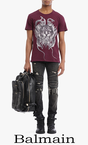 Clothing Balmain Jeans For Men Spring Summer