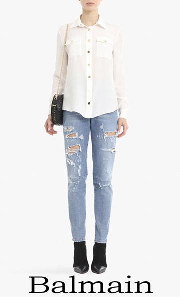 Clothing Balmain Shirts Spring Summer For Women