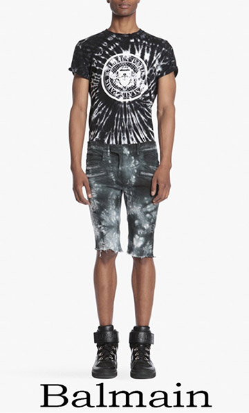 Clothing Balmain Spring Summer 2018 Jeans Men