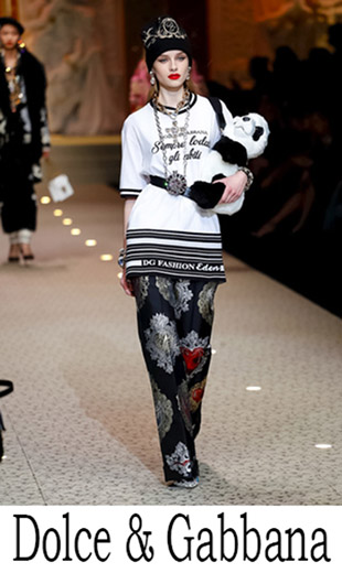Clothing Dolce Gabbana Fall Winter 2018 2019 News