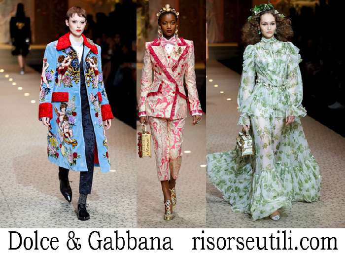 Clothing Dolce Gabbana Fall Winter Brand For Women