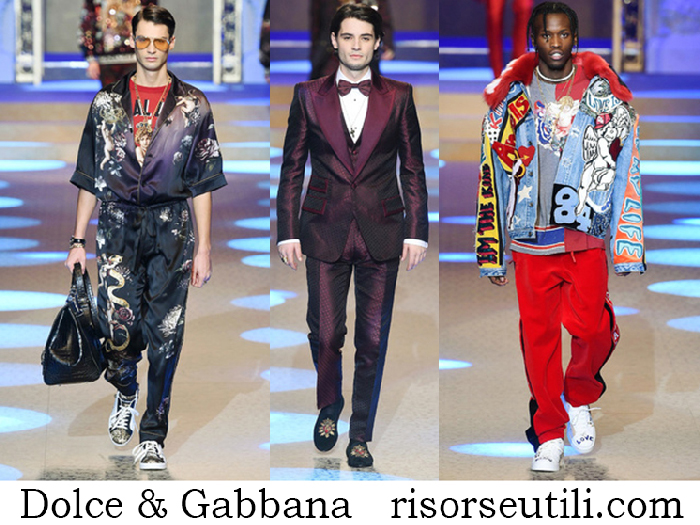 Clothing Dolce Gabbana Fall Winter Lifestyle For Men