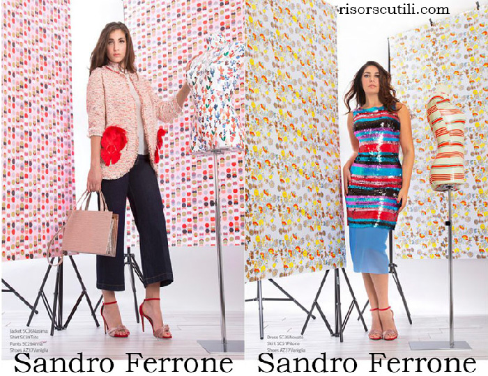 Clothing Sandro Ferrone Catalogo 2018 Spring Summer