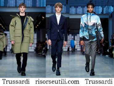 Clothing Trussardi fall winter 2018 2019 brand for men