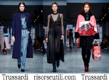 Clothing Trussardi fall winter 2018 2019 fashion for women
