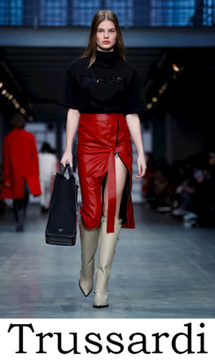 Clothing Trussardi Fall Winter 2018 2019 For Women News