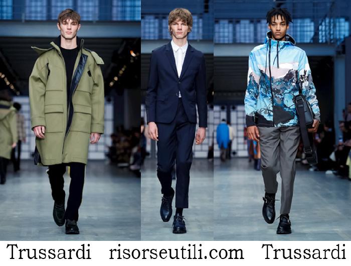 Clothing Trussardi Fall Winterfashion Brand For Men