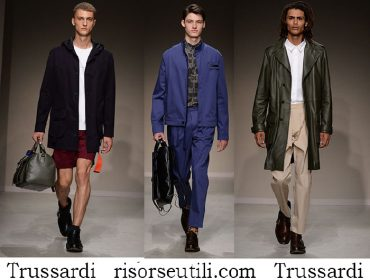 Clothing Trussardi spring summer 2018 lifestyle for men