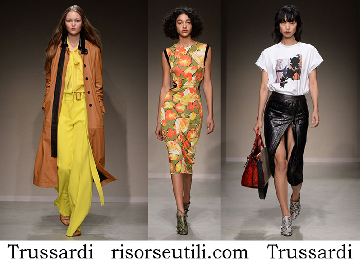Clothing Trussardi Spring Summer Brand For Women