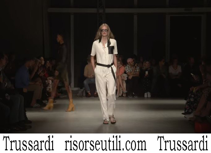 Fashion Show Trussardi For Women Spring Summer 2018