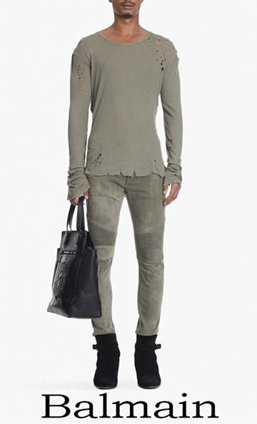 Fashion Trends Balmain Denim 2018 For Men