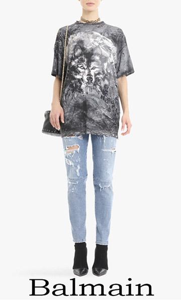 Fashion Trends Balmain Denim 2018 For Women