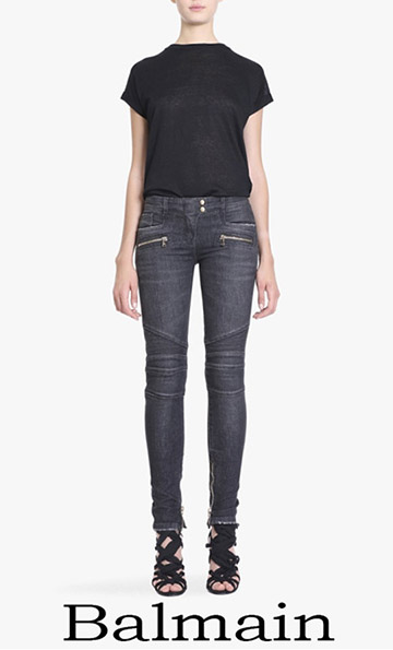 Fashion Trends Balmain Jeans 2018 For Women