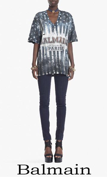 Fashion Trends Balmain T Shirts 2018 For Women