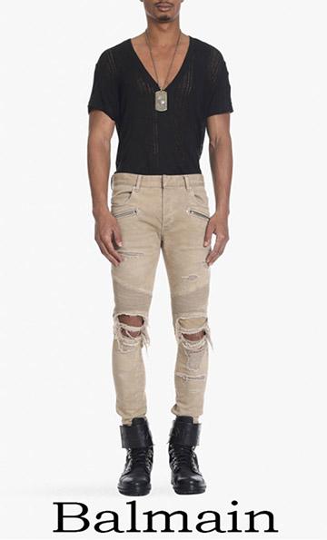 Jeans Balmain 2018 Spring Summer For Men
