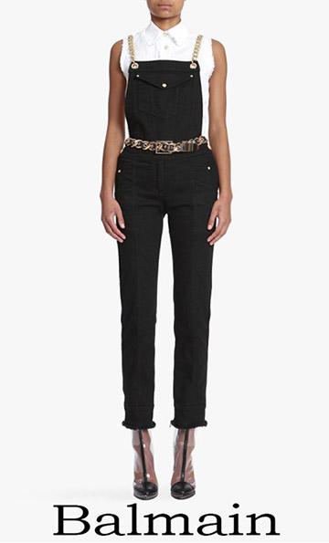 Jeans Balmain 2018 Spring Summer For Women