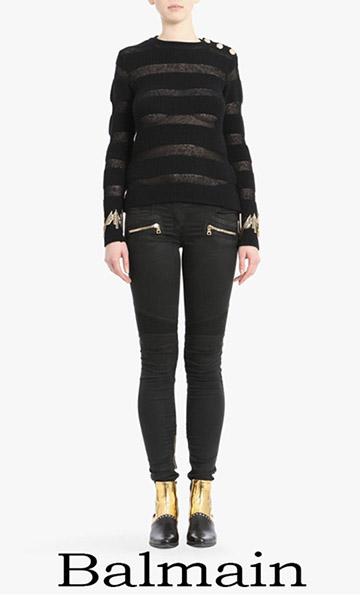 Jeans Balmain Spring Summer 2018 For Women