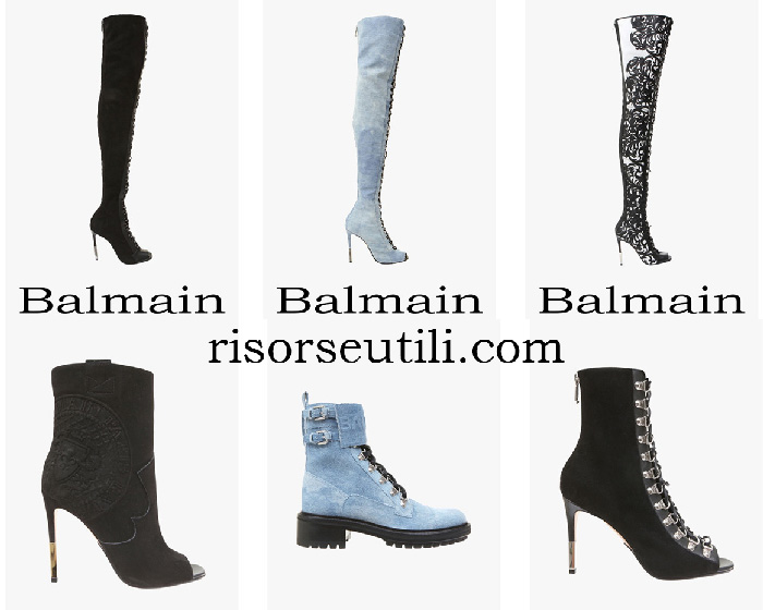 New Arrivals Balmain Boots Spring Summer For Women