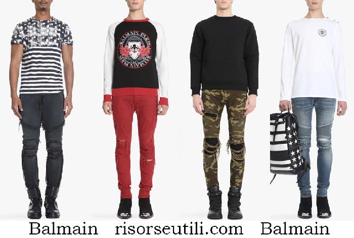 New Arrivals Balmain Jeans Spring Summer For Men