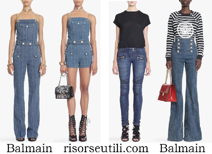 New Arrivals Balmain Jeans Spring Summer For Women