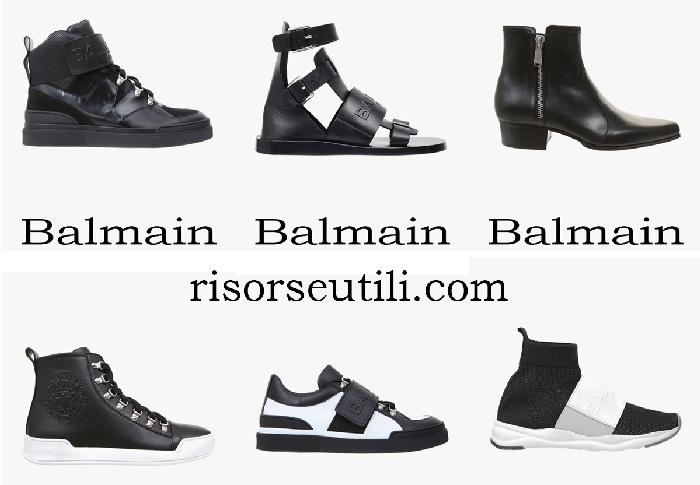 New Arrivals Balmain Shoes Spring Summer For Men