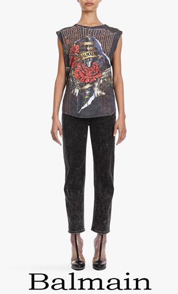T Shirts Balmain 2018 New Arrivals For Women