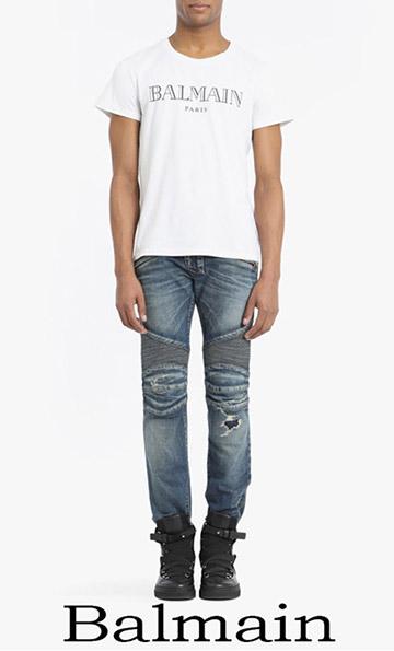 T Shirts Balmain 2018 Spring Summer For Men