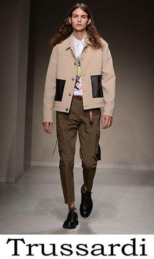 Trussardi Clothing For Men Spring Summer 2018