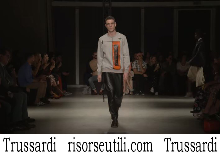 Trussardi For Men Spring Summer 2018 fashion Show