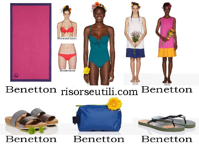 Benetton Spring Summer 2018 Beachwear For Women