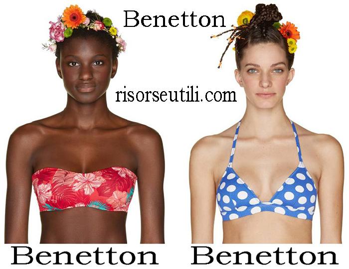 Benetton Spring Summer 2018 Bikinis For Women