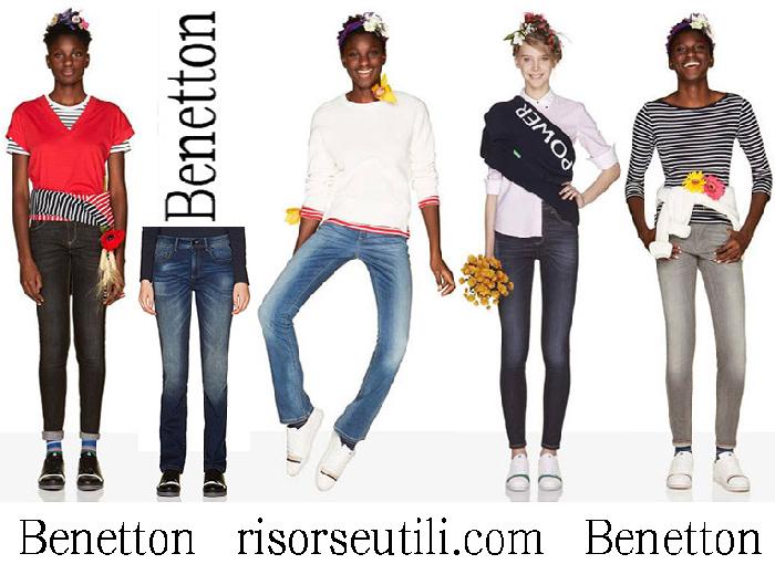 Benettonspring Summer 2018 Jeans For Women
