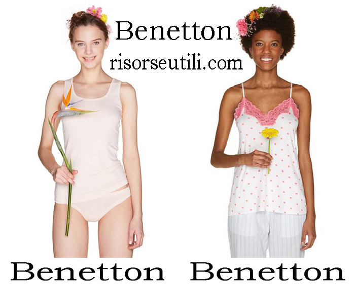 Benetton Spring Summer 2018 Underwear For Women