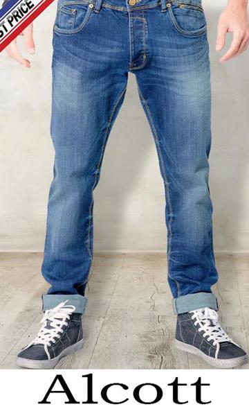 Clothing Alcott Jeans For Men Spring Summer