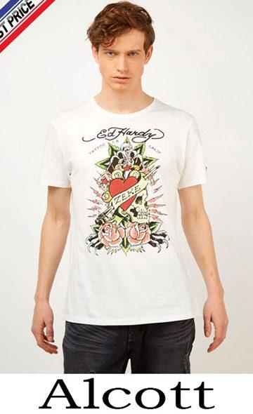 Clothing Alcott T Shirts For Men Spring Summer