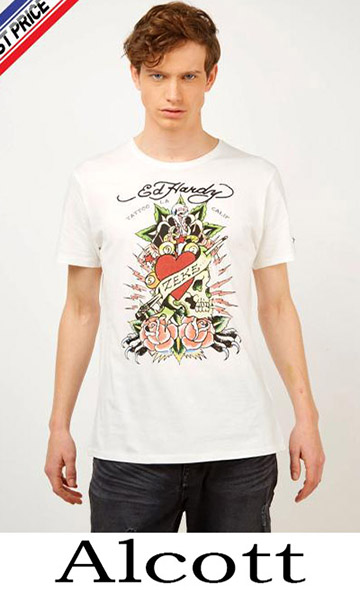 Clothing Alcott T Shirts For Men Spring Summer