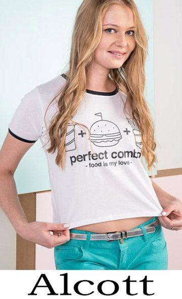 Clothing Alcott T Shirts For Women Spring Summer